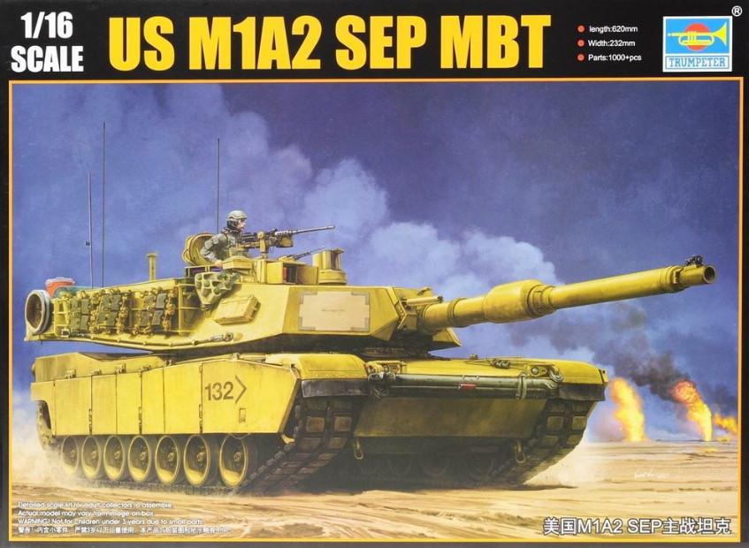 Trumpeter US M1A2 SEP MBT 1:16 00927