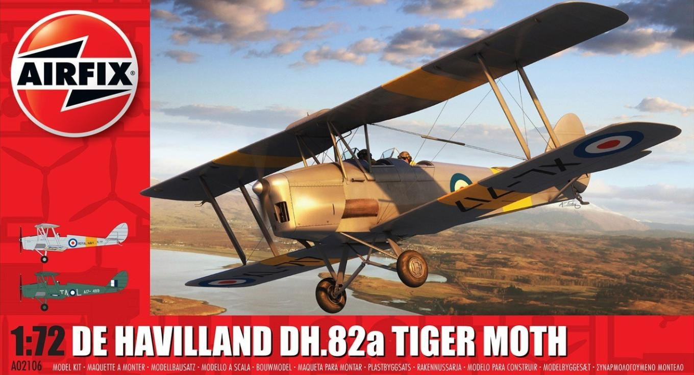 Airfix De Havilland DH.82a Tiger Moth 1:72 A02106