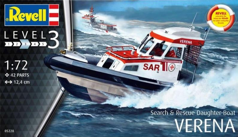 Revell Rescue Boat DGzRS Verena 1:72 05228