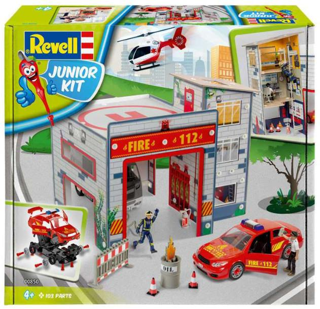 Revell Fire Station Junior Kit 1:20 00850