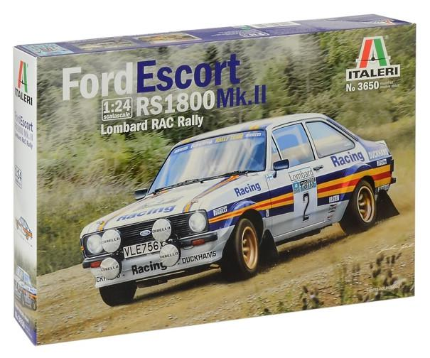 Italeri Ford Escort RS 1800 Mk.II Lombard RAC Rally 1:24 3650