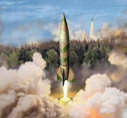 Revell German A4/V2 Rocket 1:72 03309