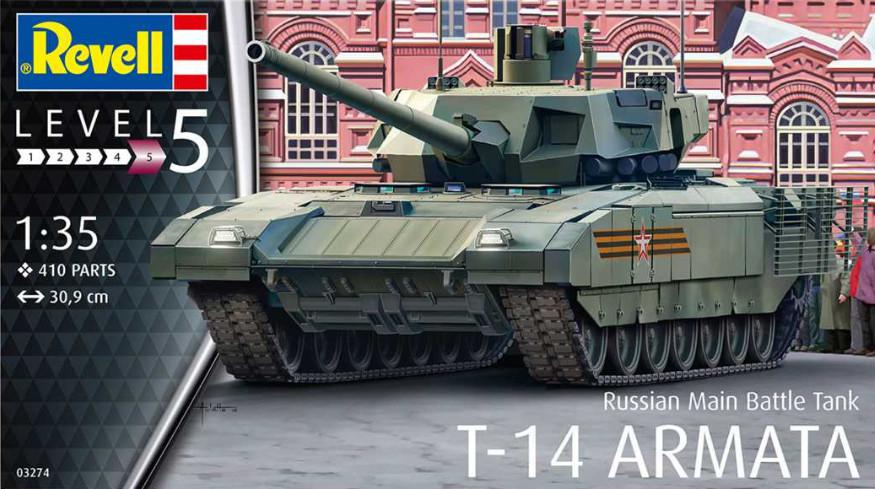 Revell Russian Main Battle Tank T-14 Armata 1:35 03274
