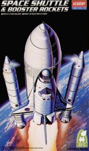 Academy Space Shuttle & Booster Rockets 1:288 12707