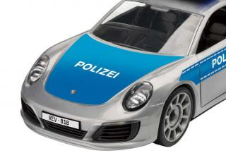 Revell Porsche 911 Police Junior Kit 1:20 00818