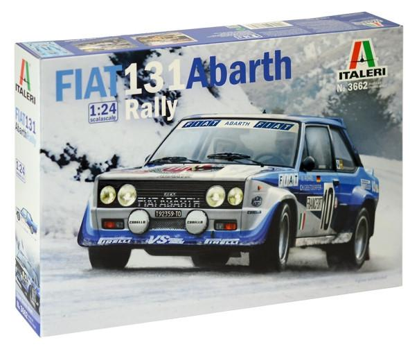 Italeri FIAT 131 Abarth Rally 1:24 3662