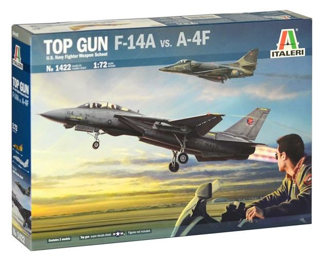 Italeri TOP GUN F-14A vs A-4F 1:72 1422