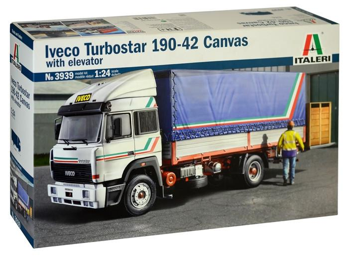 Italeri IVECO Turbostar 190-42 Canvas 1:24 3939