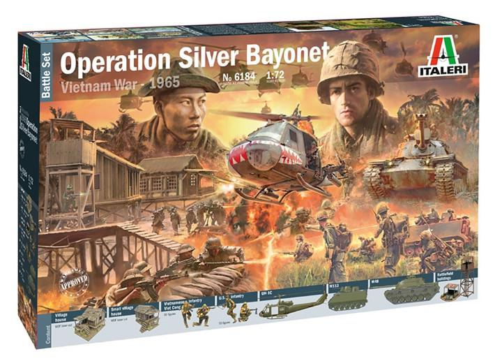 Italeri Operation Silver Bayonet - Vietnam War 1965 1:72 6184