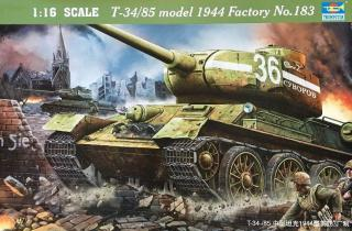 Trumpeter T-34/85 model 1944 Factory No.183 1:16 00902
