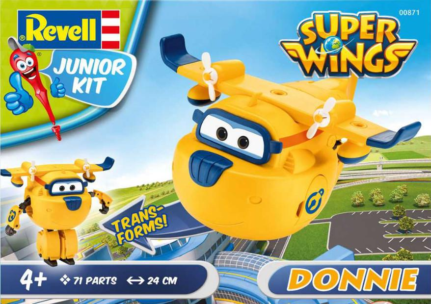 Revell Super Wings Donnie Junior Kit 1:20 00871