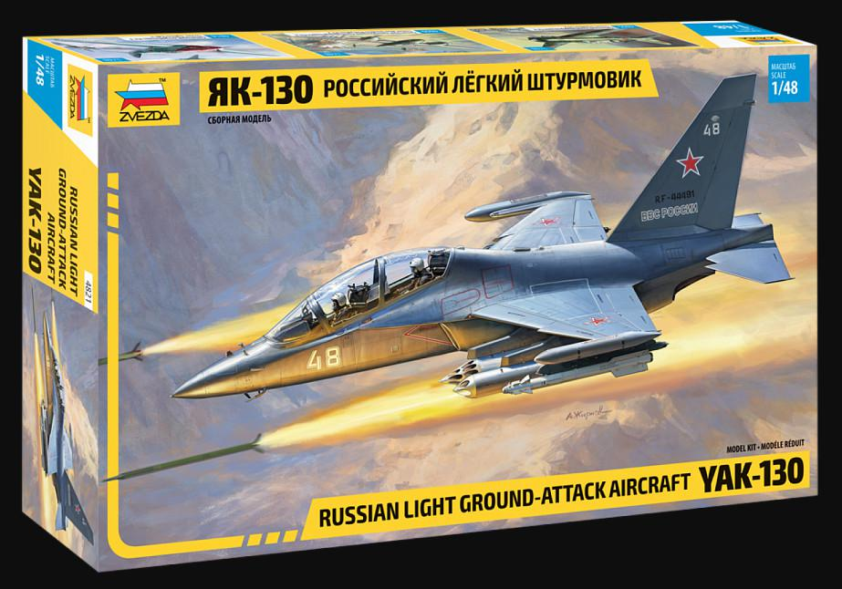 Zvezda YAK-130 Russian trainer/fighter 1:48 4821