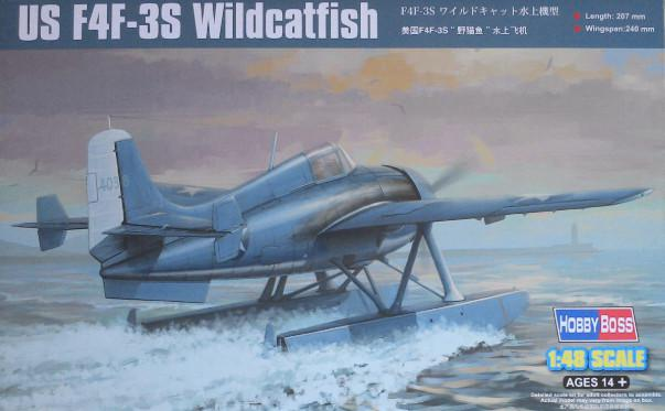 Hobby Boss US F4F-3S WIldcatfish 1:48 81729
