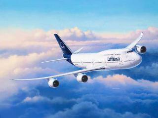 Revell Boeing 747-8 Lufthansa New Livery 1:144 03891
