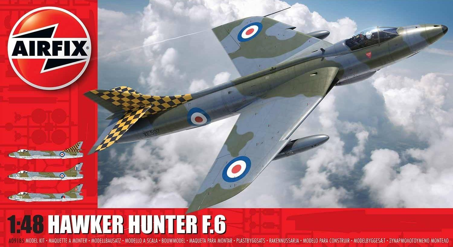 Airfix Hawker Hunter F6 1:48 A09185