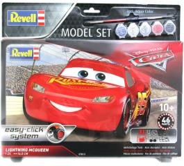 Revell Lightning McQueen Easy Click Model-Set 1:24 67813