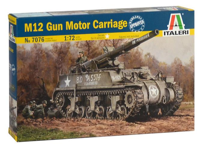 Italeri M12 Gun Motor Carriage 1:72 7076