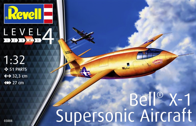Revell Bell X-1 Supersonic Aircraft 1:32 03888