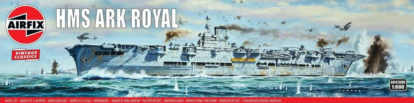 Airfix HMS Ark Royal 1:600 A04208V