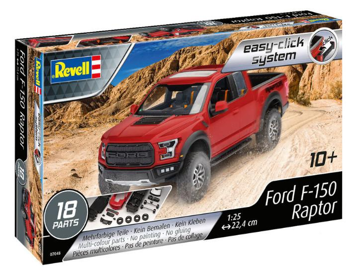 Revell Ford F-150 Raptor 2017 Easy Click 1:25 07048