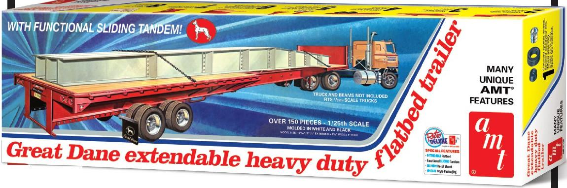 AMT Flabed trailer 1:25 AMT1111