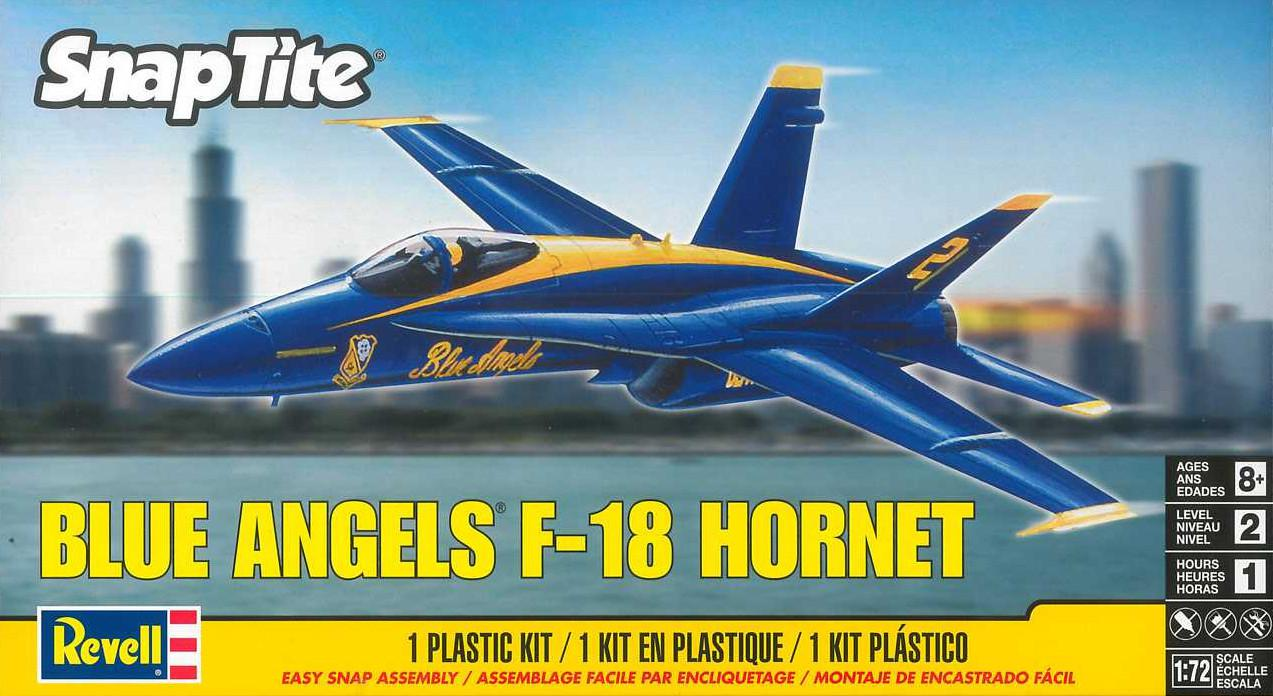 Revell F-18 Blue Angels Snap Kit 1:72 85-1185