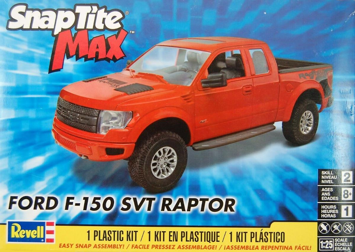 Revell Ford F-150 SVT Raptor Snap Kit 1:25 85-1233