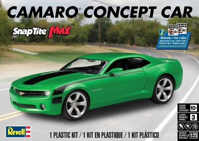Revell Camaro Concept Car Snap Kit 1:25 85-1527