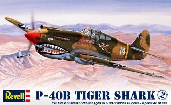 Revell P-40B Tiger Shark 1:48 85-5209