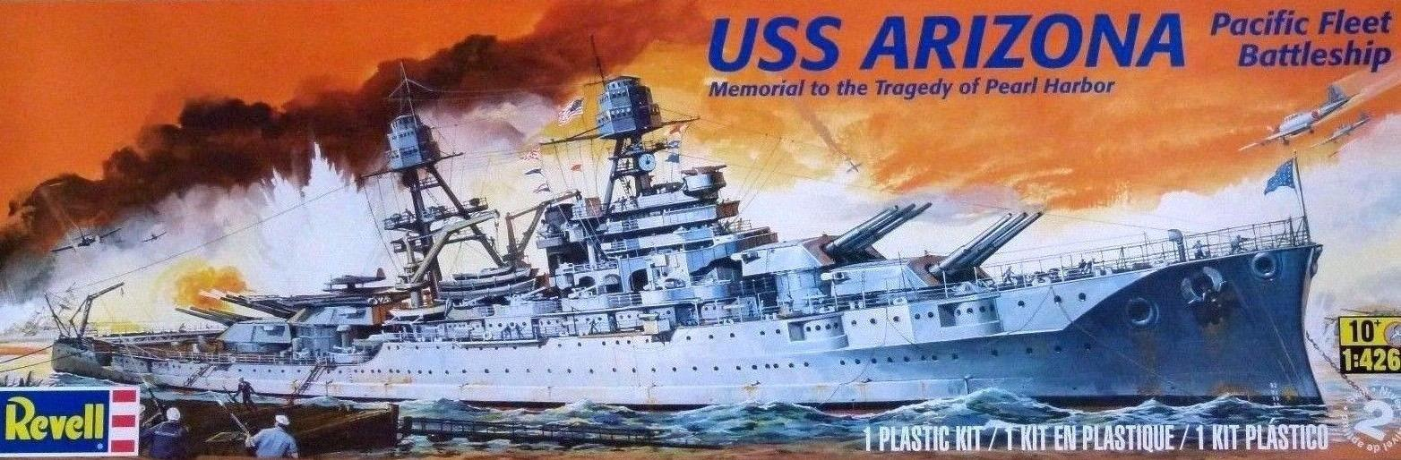 Revell USS Arizona Battleship 1:426 85-0302