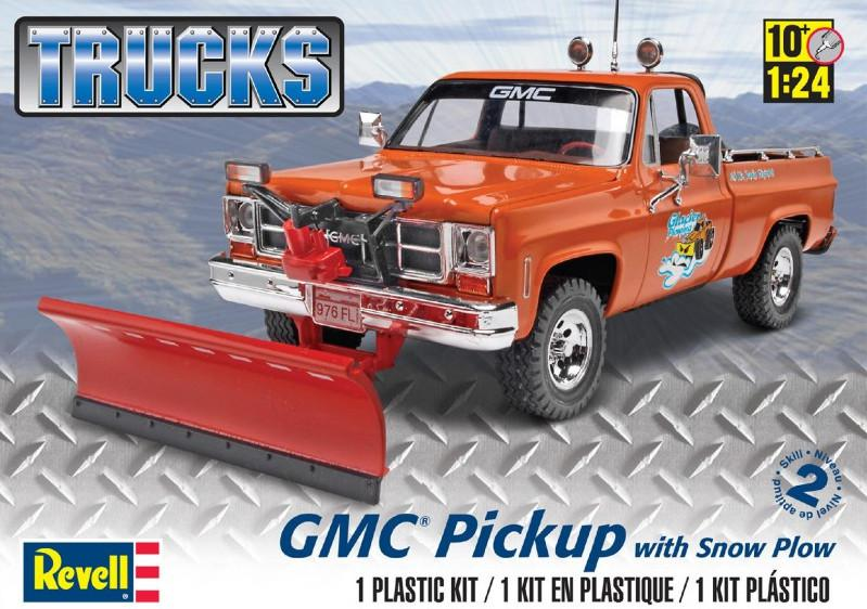 Revell GMC Pickup w/ Snow Plow 1:24 85-7222