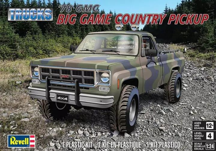 Revell '78 GMC Big Game Country Pickup 1:25 85-7226