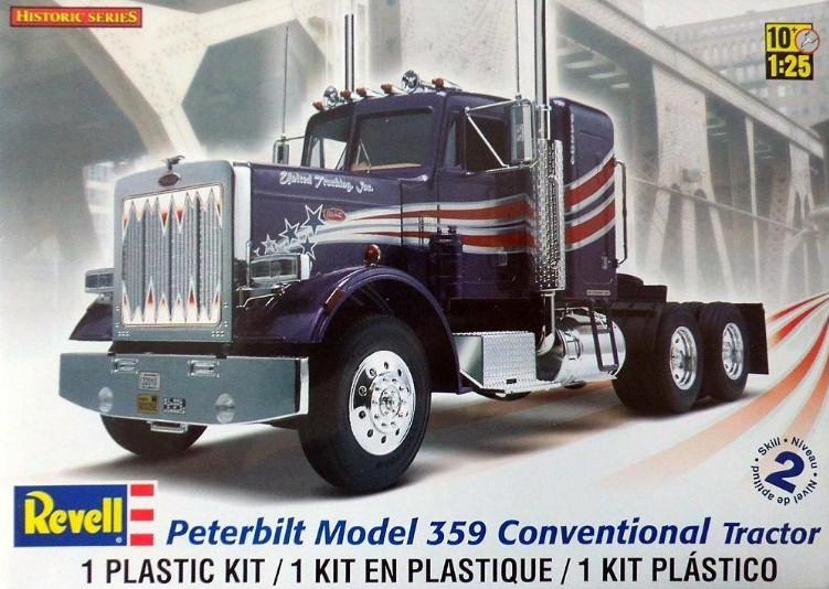 Revell Peterbilt 359 Conventional Tractor 1:25 85-1506