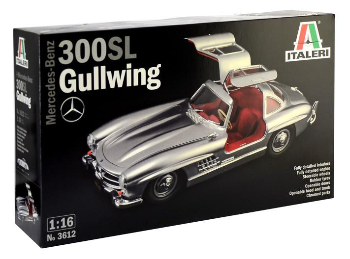 Italeri Mercedes-Benz 300 SL Gullwing 1:16 3612