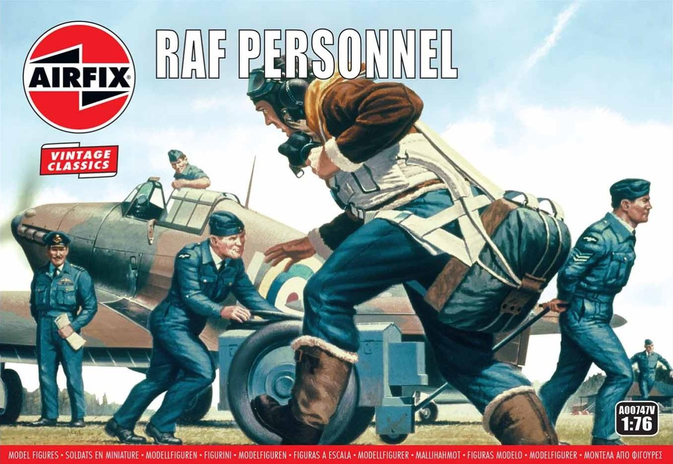 Airfix figurky RAF Personnel 1:76 A00747V