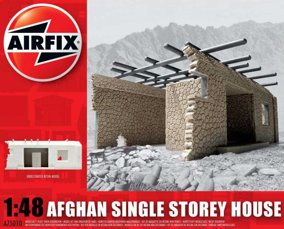 Airfix Afghan Single Storey House 1:48 A75010