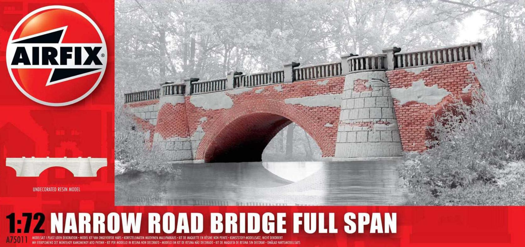 Airfix Narrow Road Bridge Full Span 1:72 A75011