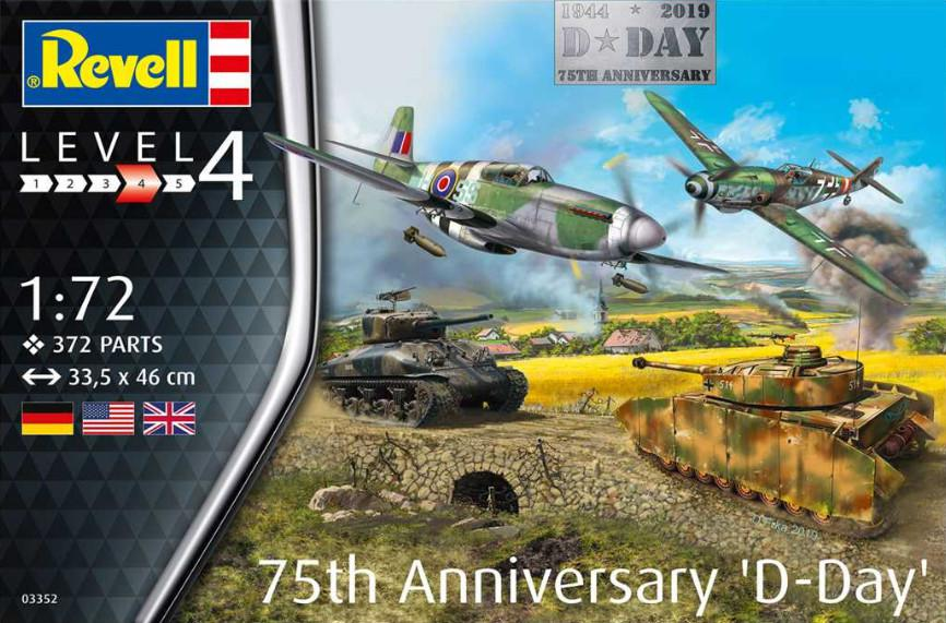 Revell 75 Years D-Day Set 1:72 03352