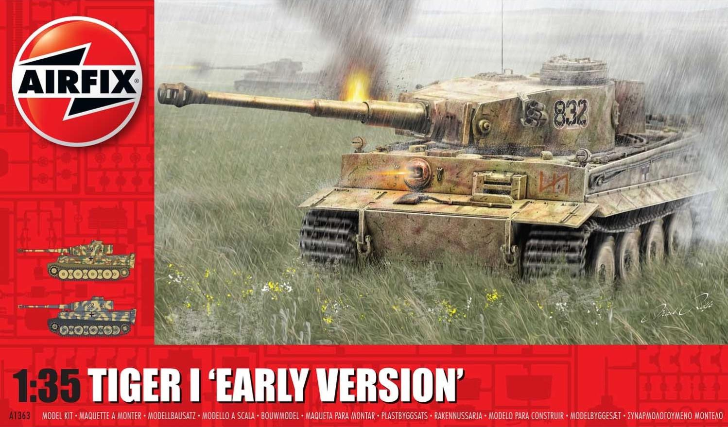 Airfix Tiger 1 Early Version 1:35 A1363