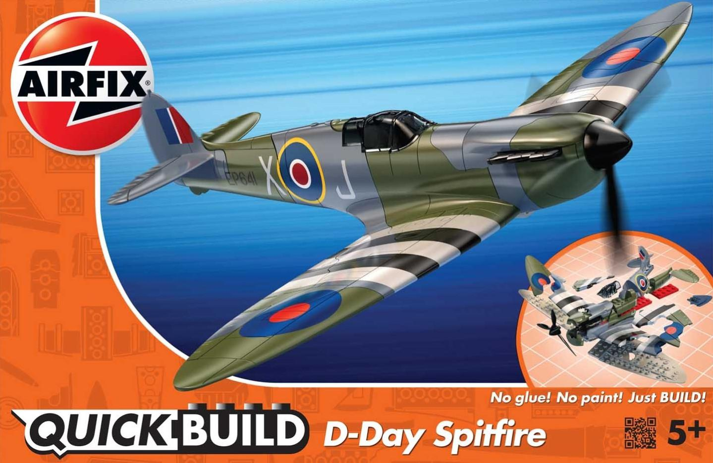 Airfix D-Day Spitfire Quick Build J6045