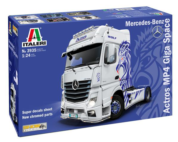 Italeri Mercedes-Benz Actros MP4 Giga Space 1:24 3935