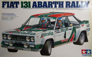 Tamiya Fiat 131 Abarth Rally 1:20 20013