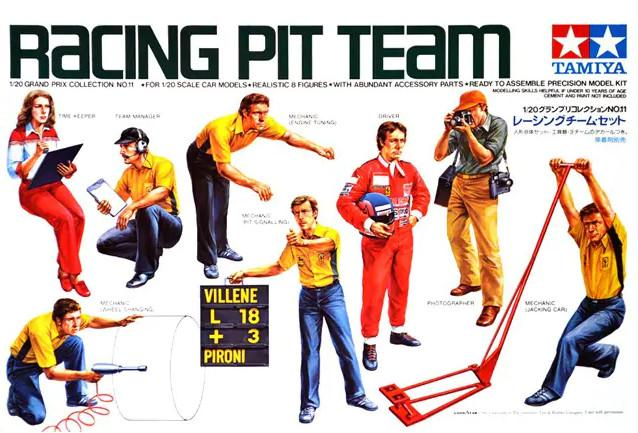 Tamiya Racing Pit Team 1:20 20011