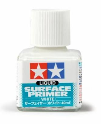 Tamiya tmel - Liquid Surface Primer-W 40ml 87096