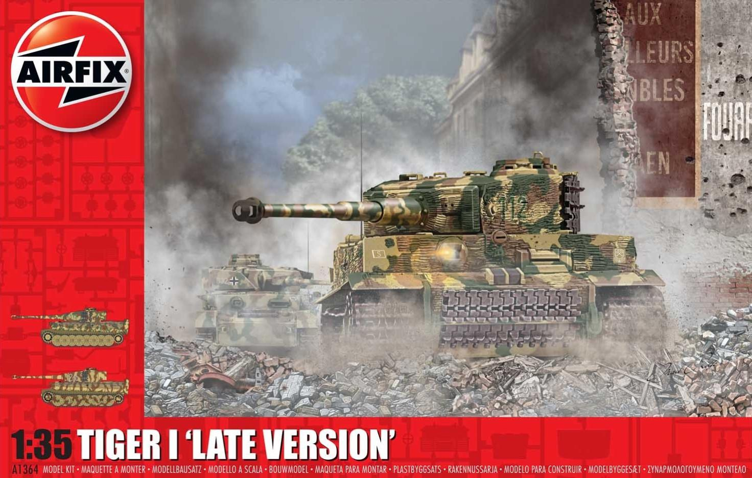 Airfix Tiger-1 Late Version 1:35 A1364