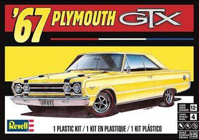 Revell 67 Plymouth GTX 1:25 85-4481