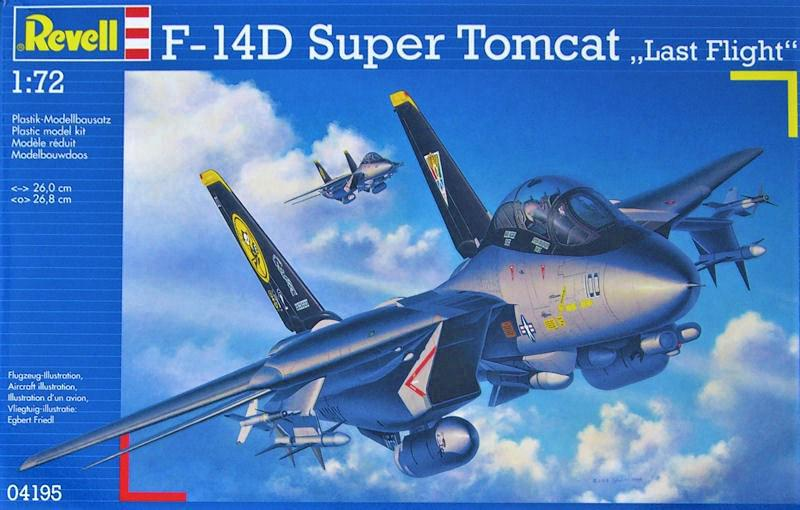 Revell F-14D Super Tomcat Last Flight 1:72 04195