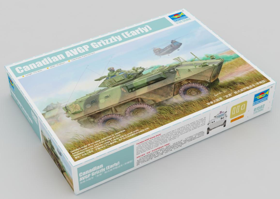 Trumpeter Canadian Grizzly 6x6 APC 1:35 01502