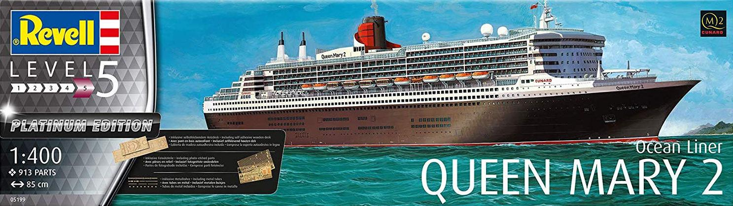 Revell Queen Mary 2 Platinum Edition 1:400 05199