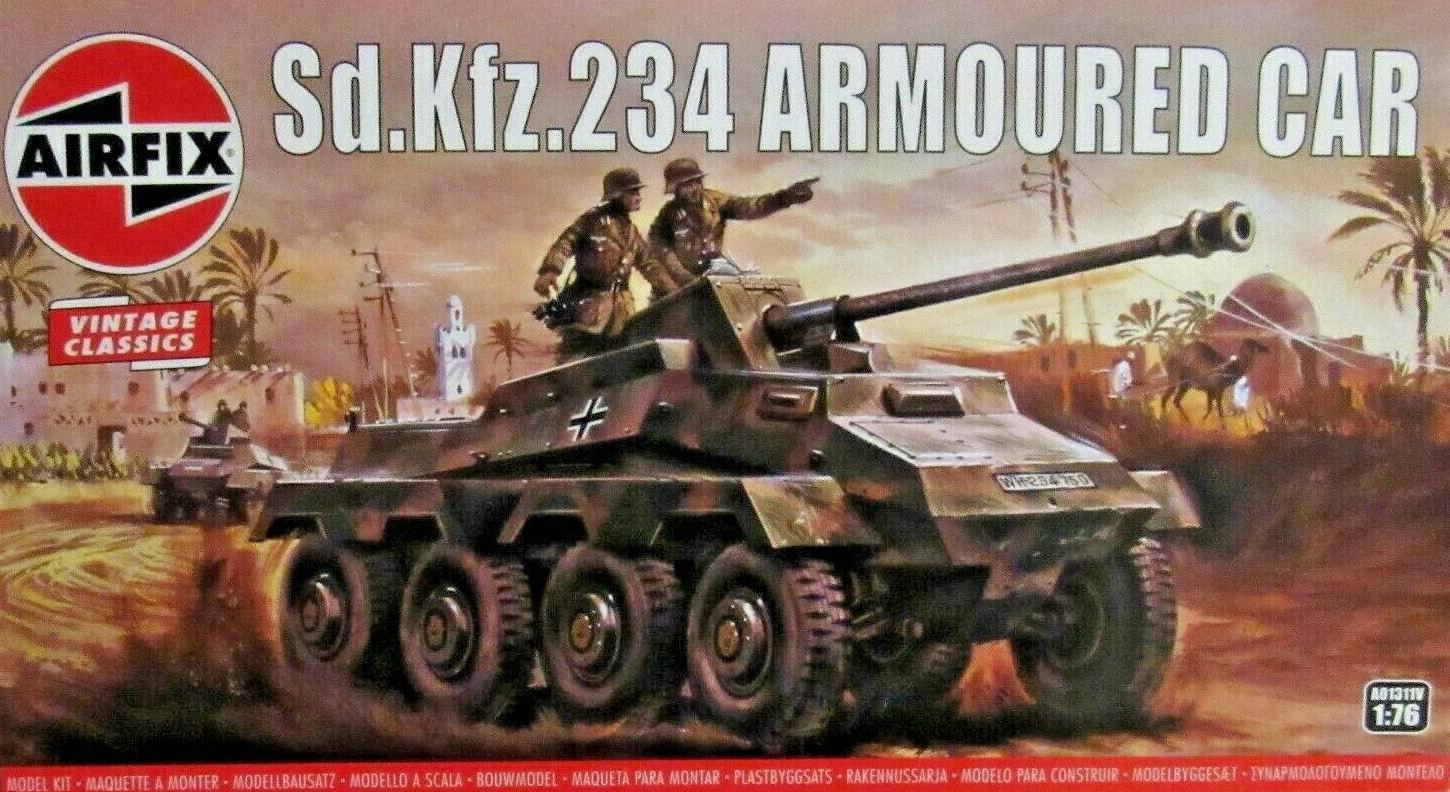 Airfix Sd.Kfz.234 Armoured Car 1:76 A01311V